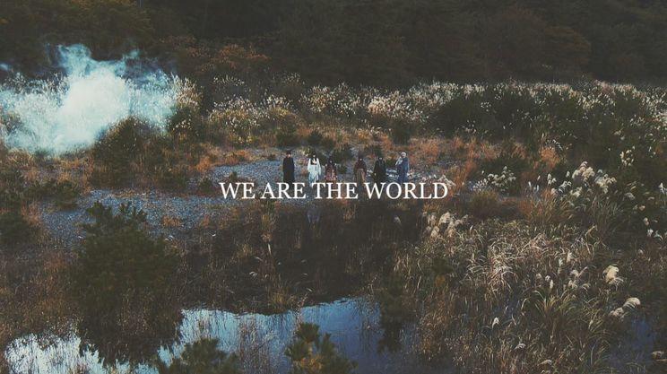 EMPiRE「WE ARE THE WORLD」MVより