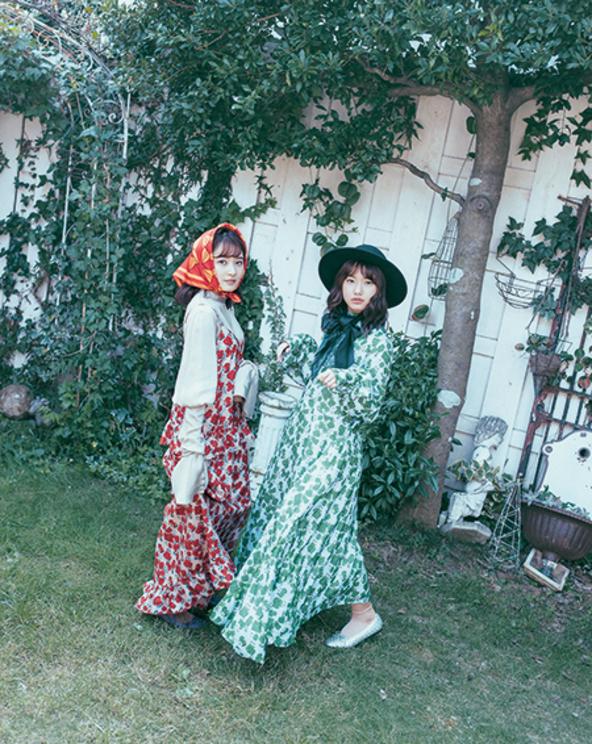 モーニング娘。'19/『装苑』 2020年1月号/撮影:今城 純(D-CORD)