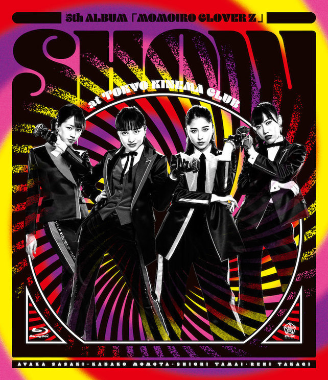 『5th ALBUM『MOMOIRO CLOVER Z』SHOW at 東京キネマ倶楽部』ライブBlu-rayジャケット