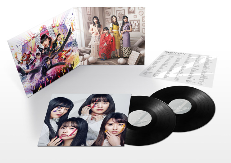 5thアルバム『MOMOIRO CLOVER Z』アナログ盤展開図
