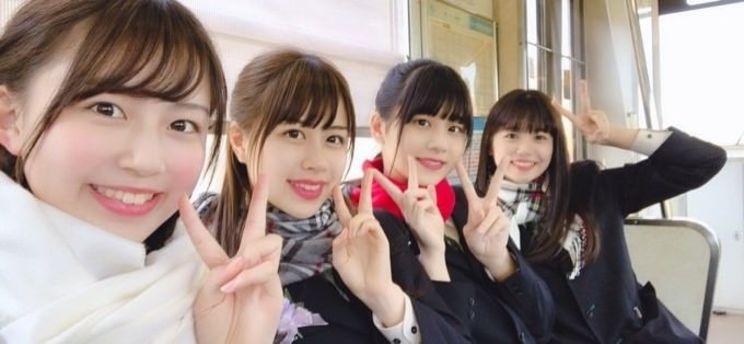 星川遥香、脇田穂乃香、濵邊咲良、武田雛歩(たけやま3.5)
