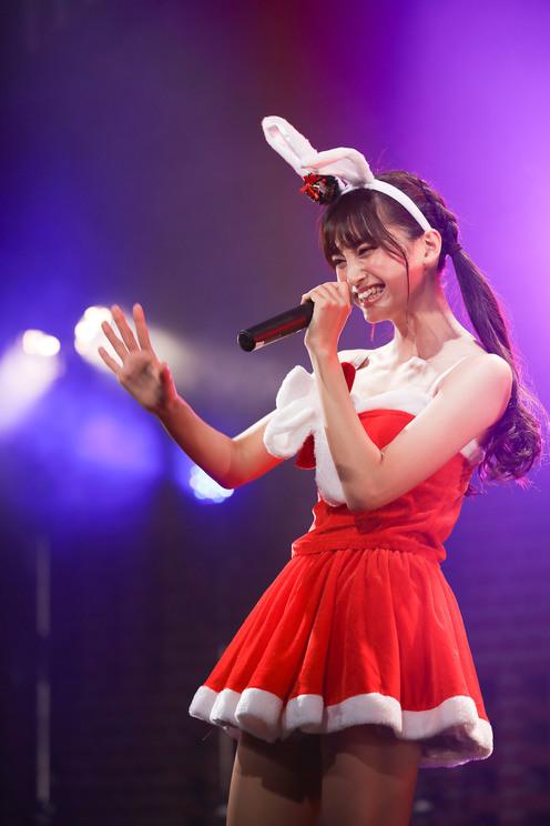 小山リーナ<毎日がクリスマス「マジ☆クリ2019〜マジでハッピーなクリスマス!〜」>横浜赤レンガ倉庫(2019年12月22日)