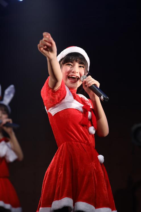 吉田優良里<毎日がクリスマス「マジ☆クリ2019〜マジでハッピーなクリスマス!〜」>横浜赤レンガ倉庫(2019年12月22日)