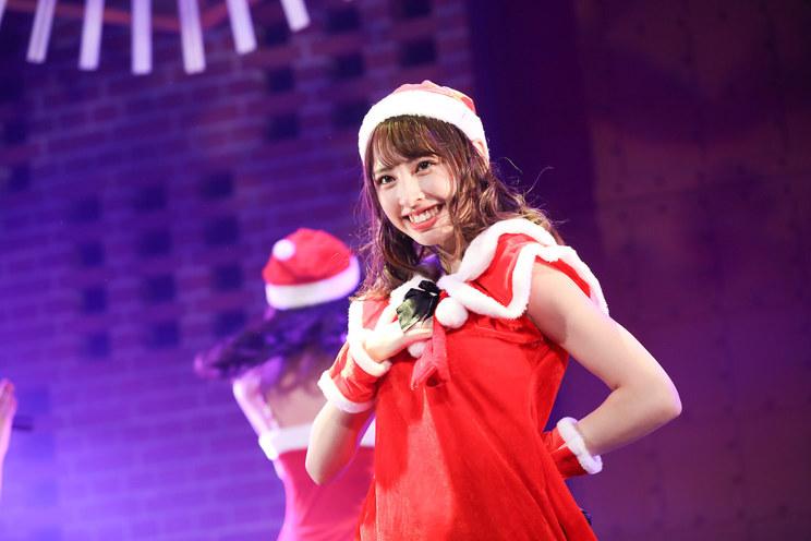 沖口優奈<毎日がクリスマス「マジ☆クリ2019〜マジでハッピーなクリスマス!〜」>横浜赤レンガ倉庫(2019年12月22日)