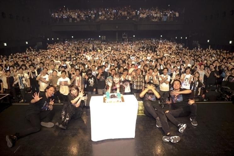 <Yu Serizawa 1st Live Tour 2019 ~ViVid♡コンタクト!~>Zepp Divercity Tokyo(撮影:上飯坂一)