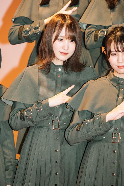 菅井友香『第70回NHK紅白歌合戦』フォトセッション