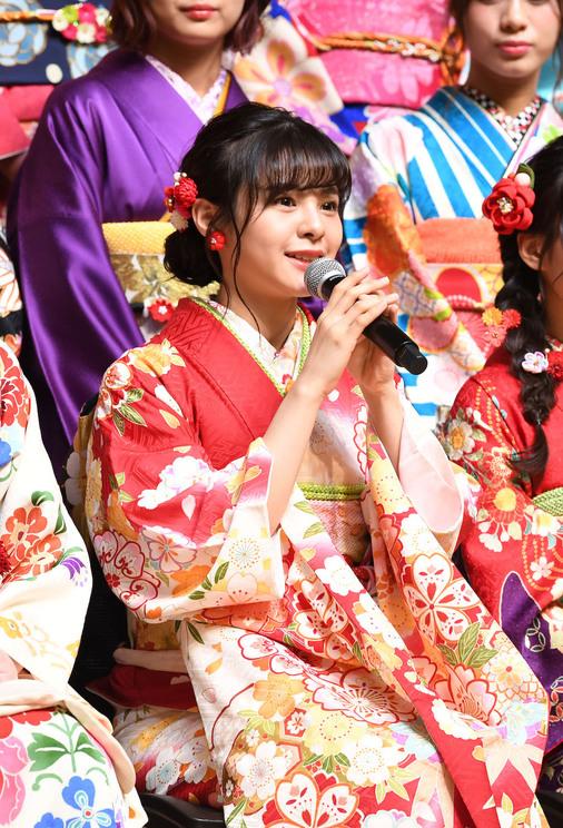 <AKB48 グループ成人式>神田明神(2019年1月13日)/(C)AKS