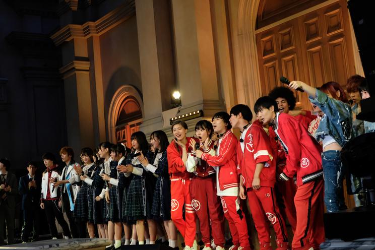 青春高校3年C組<メジャーデビューシングル「君のことをまだ何にも知らない」CDリリース記念イベント>ヴィーナスフォート教会広場(2020年1月22日)