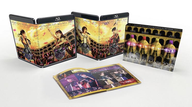Blu-ray&DVD『MomocloMania2019 -ROAD TO 2020- 史上最大のプレ開会式』展開図