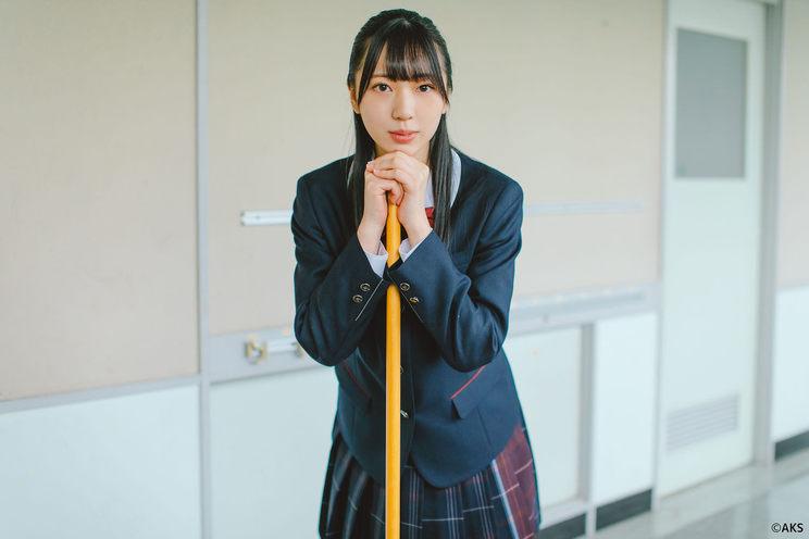 HKT48 坂本りの(宇部フロンティア大学付属中学校 新制服)