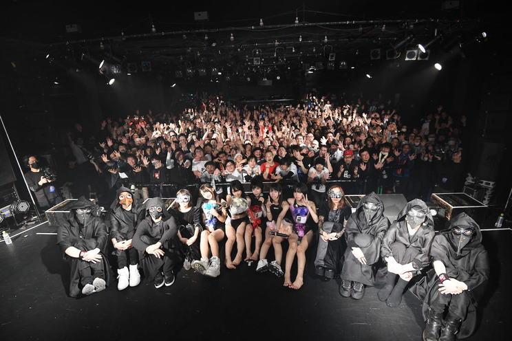<鶯籠 2nd ワンマンライブ「修羅場」>恵比寿LIQUIDROOM(2020年2月7日)/撮影:斉藤明
