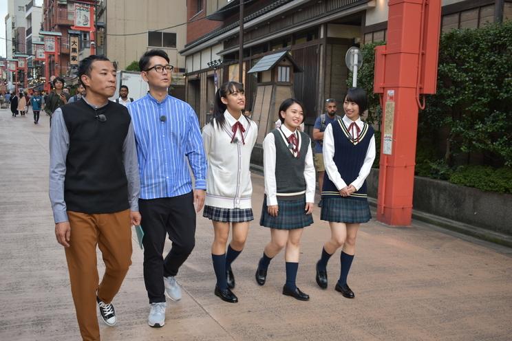 『ハロプロ!TOKYO散歩』より