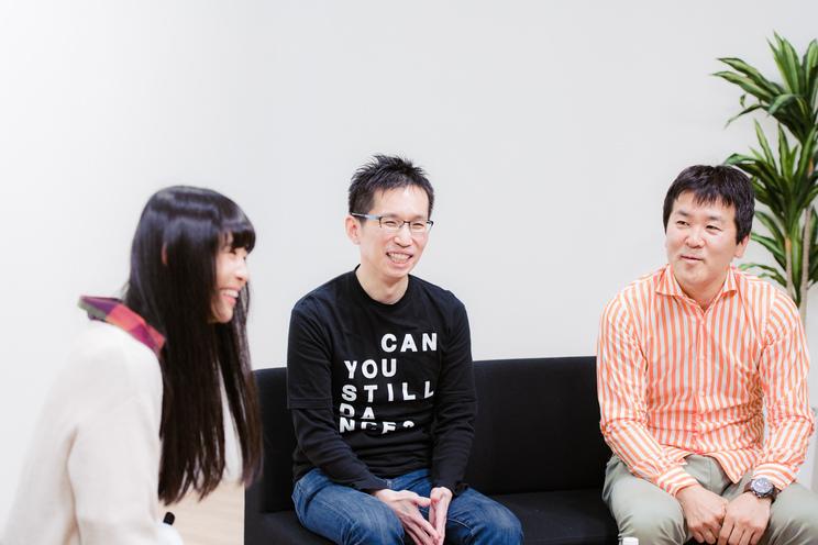 寺嶋由芙、余田圭介さん、吉江敏行さん