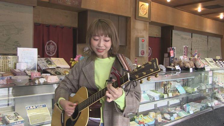 CBCテレビ『メイプル超音楽』内『シンガー・大矢梨華子の東海三県 弾き語り旅』より