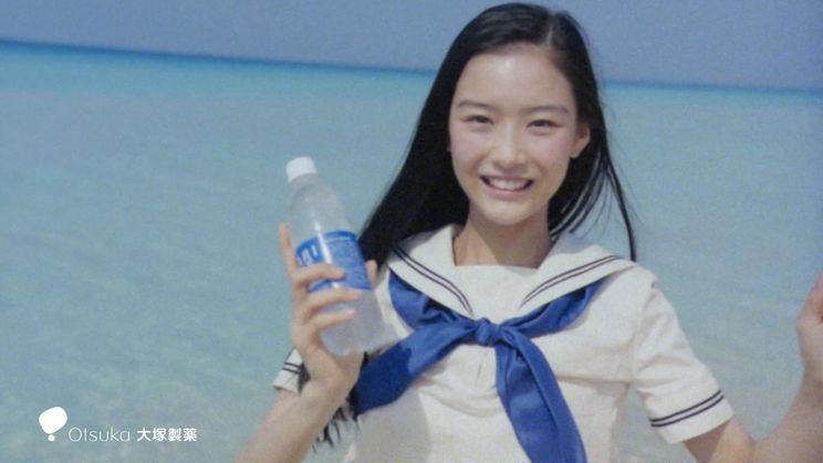 汐谷友希(ポカリスエット新CM「渇きを力に変えてゆく。」)