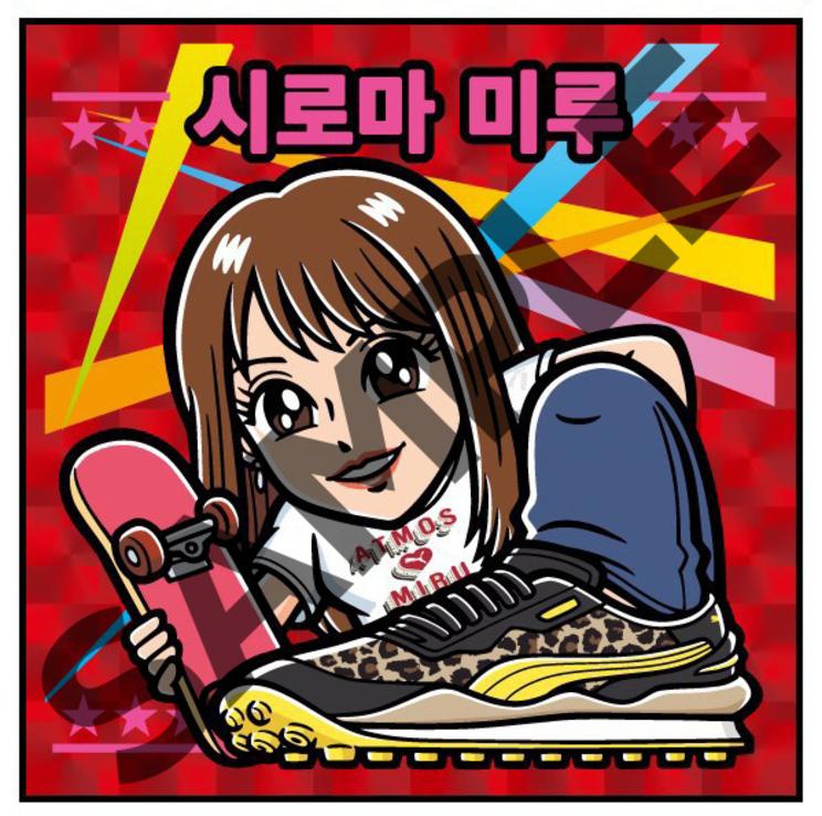 ビックリマンシール(韓国版)