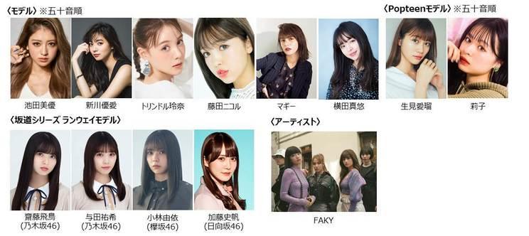 <Tokyo Virtual Runway Live by GirlsAward>出演者