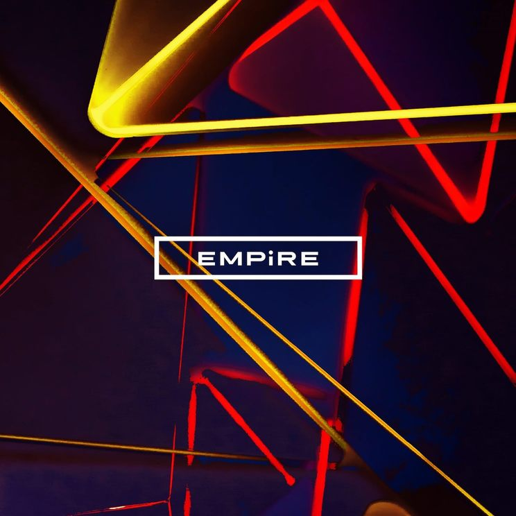 EMPiRE『SUPER COOL EP』CD盤ジャケット
