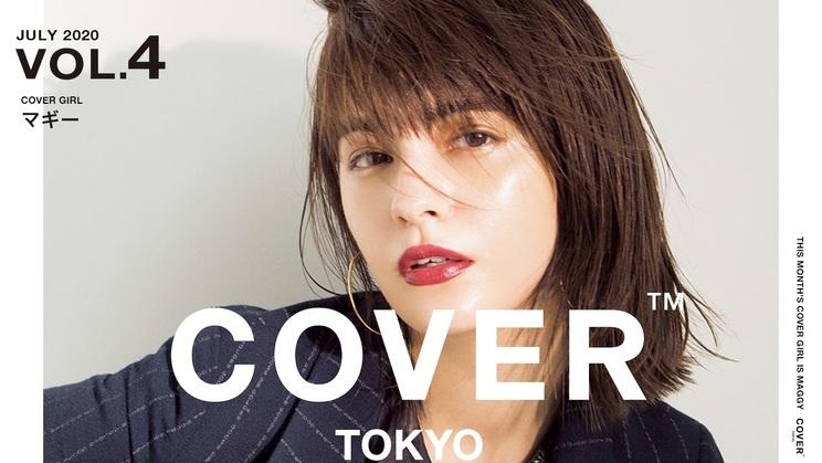 『THE TOKYO SALON VISION COVER』マギー