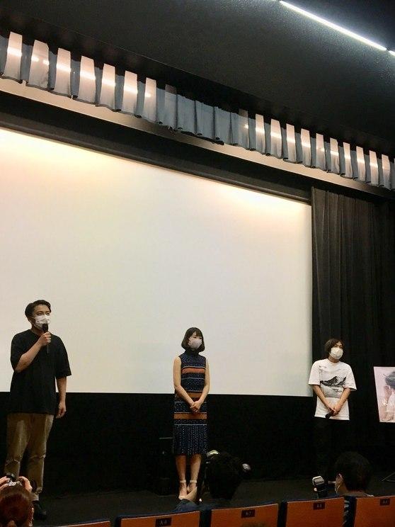 映画『東京の恋人』初日舞台挨拶|渋谷ユーロスペース(2020年6月27日)
