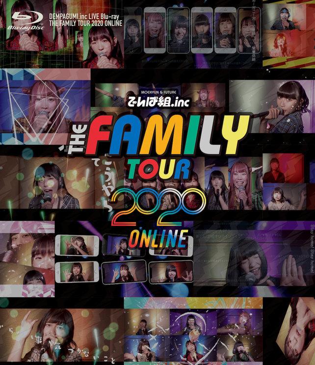 完全生産限定盤LIVE Blu-ray『THE FAMILY TOUR 2020 ONLINE』