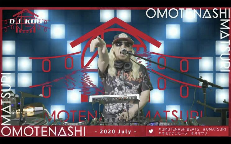 DJ KOO<OMOTENASHI MATSURI - 2020 July ->(2020年7月5日)