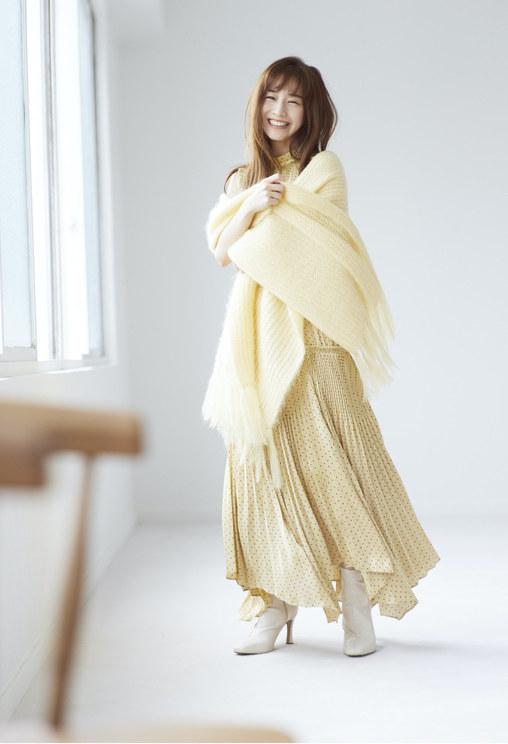 """田中みな実/『SNIDEL』""""New experience, New autumn with Minami Tanaka 新たな季節、私に寄り添うもの"""""""