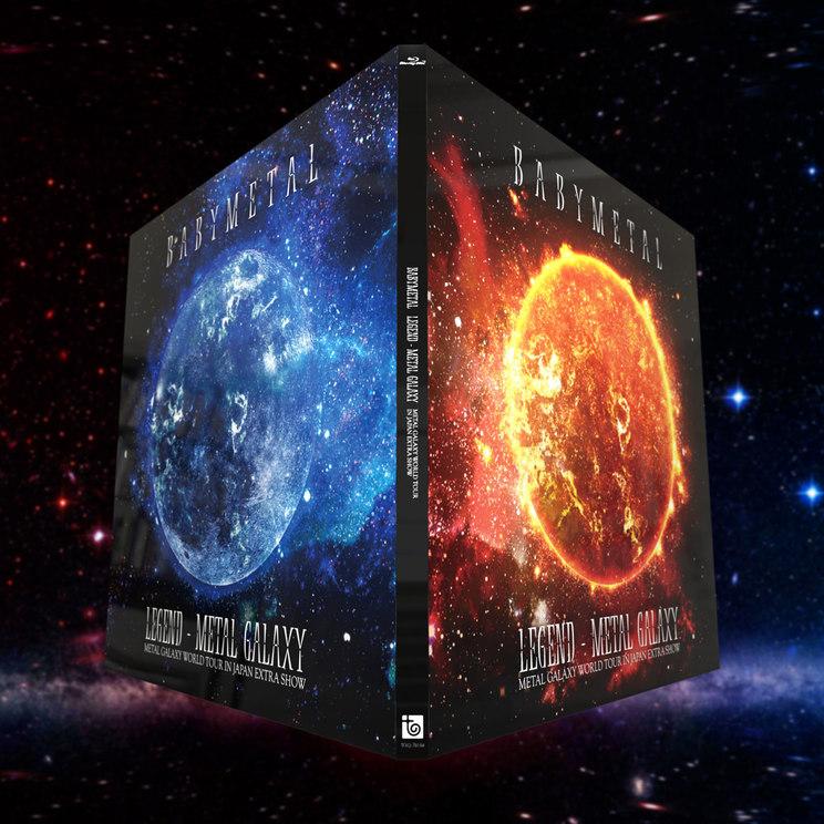 『LEGEND - METAL GALAXY (METAL GALAXY WORLD TOUR IN JAPAN EXTRA SHOW)』【2Blu-ray(初回盤)】