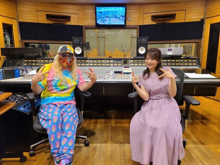 DJ KOO、森香澄アナウンサー