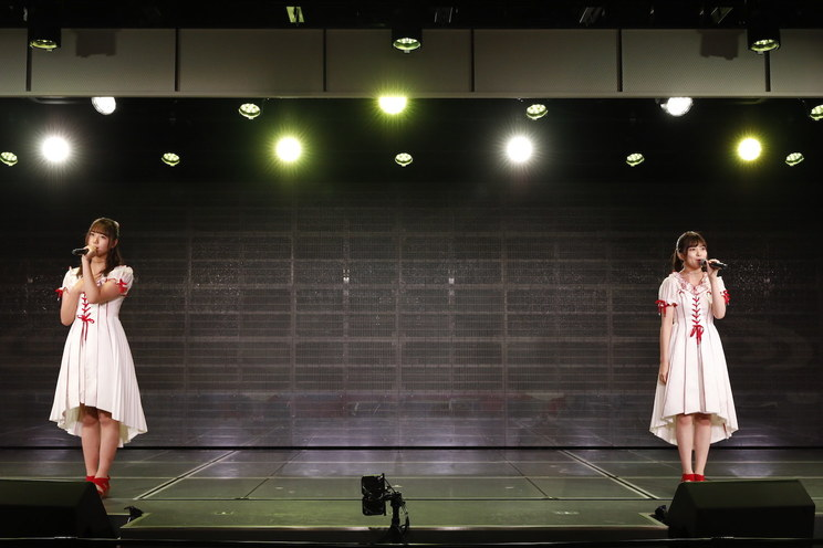 小熊倫実、角ゆりあ<かどみん公演>(NGT48)©︎Flora