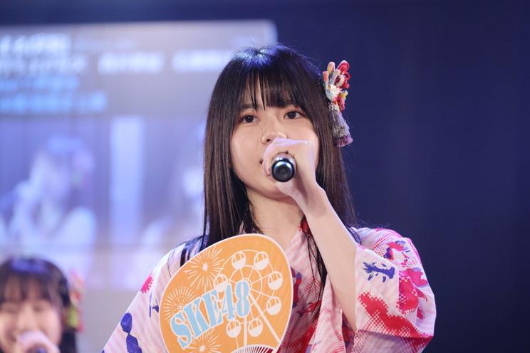 石塚美月 SKE48研究生公演<青春ガールズ>公演 SKE48劇場(2020年7月24日/©2020 Zest,Inc.)
