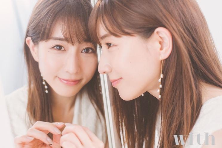 田中みな実 『with 9月号』より