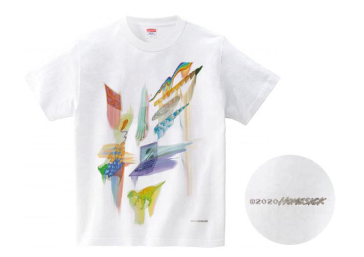 チャリティーTシャツ(¥3,500)