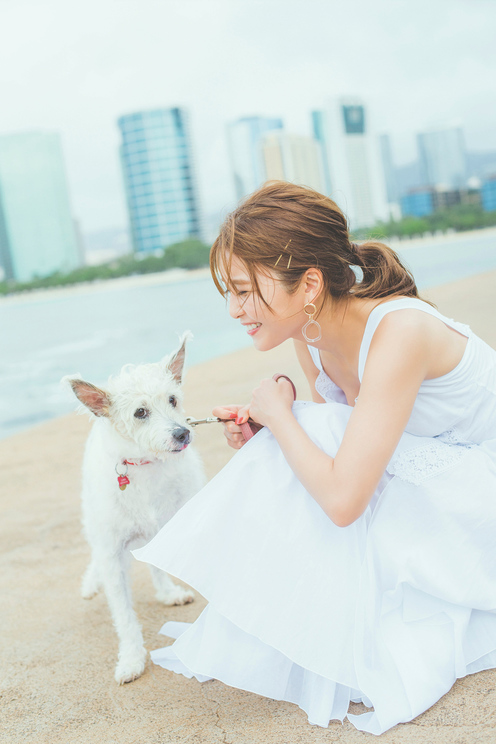AAA 宇野実彩子『うの旅 in Hawaii』イメージカット(©2020Liverpool)