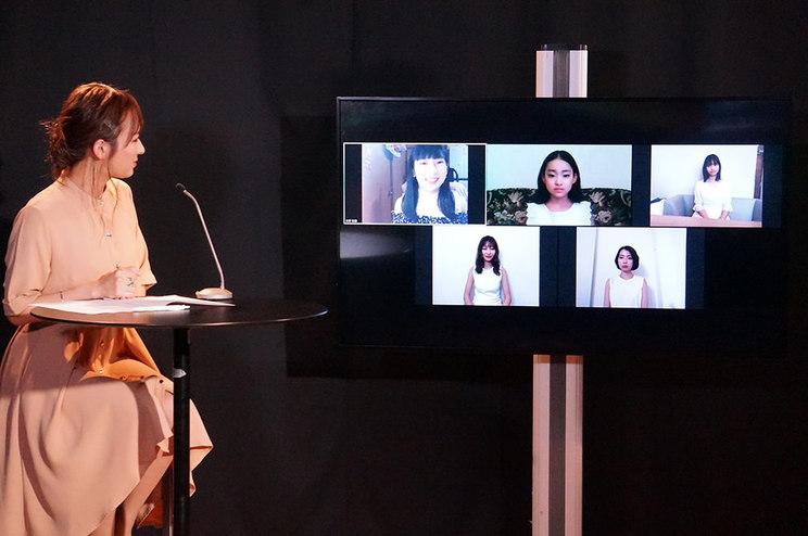 オンライン開催された<美少女図鑑アワード2020>授賞式の様子