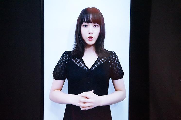 『岡山美少女図鑑』に掲載されていた女優・桜井日奈子からのビデオメッセージも