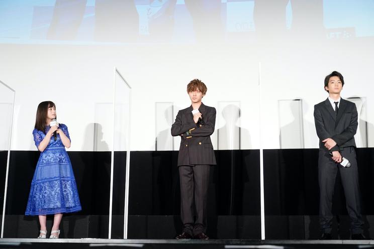 <公開記念舞台挨拶>丸の内ピカデリー1(2020年8⽉15⽇)