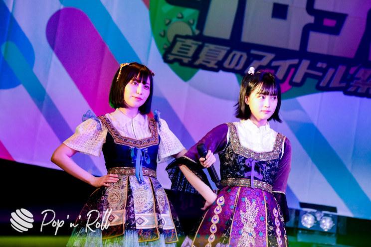 宮内凛、中川美優(まねきケチャ)<クロフェス2020 真夏のアイドル祭だしん!>(2020年8月16日)
