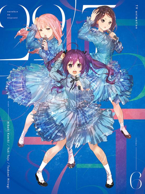 『22/7』Blu-ray&DVD Vol.6ジャケット裏面