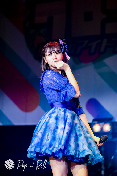 葵井ここあ(花いろは from ワンダーウィード)<クロフェス2020 真夏のアイドル祭だしん!>(2020年8月16日)