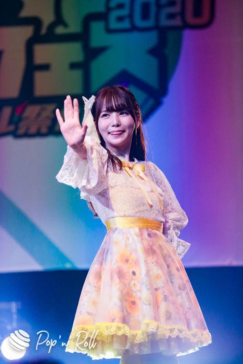 柚木ももな(花いろは from ワンダーウィード)<クロフェス2020 真夏のアイドル祭だしん!>(2020年8月16日)