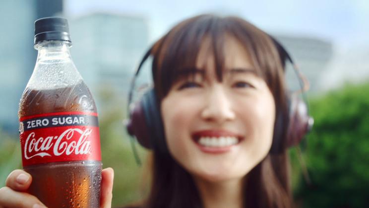 新TVCM『コカ・コーラ ゼロ 新しい時代』篇より