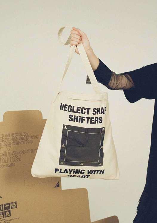 NEGLECT SHAPE SHiFTERS TOTE BAG