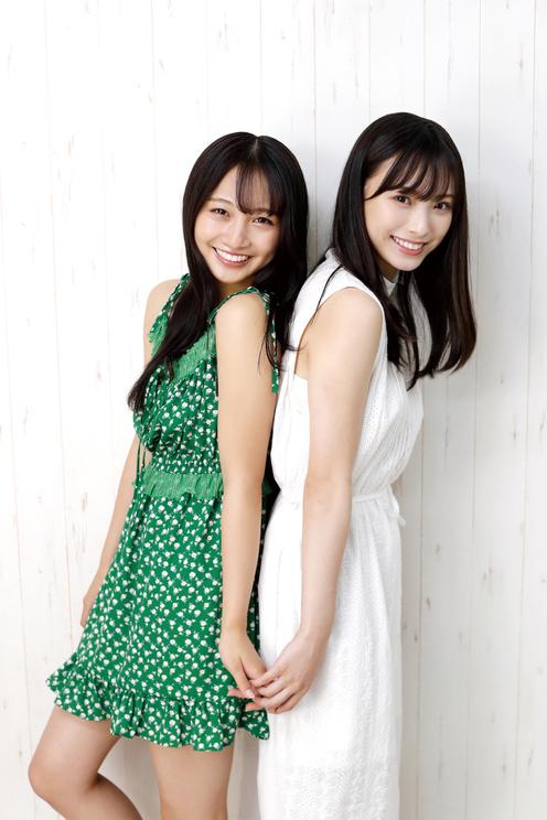 『B.L.T.2020年11月号』梅山恋和&山本彩加(NMB48)(東京ニュース通信社刊)