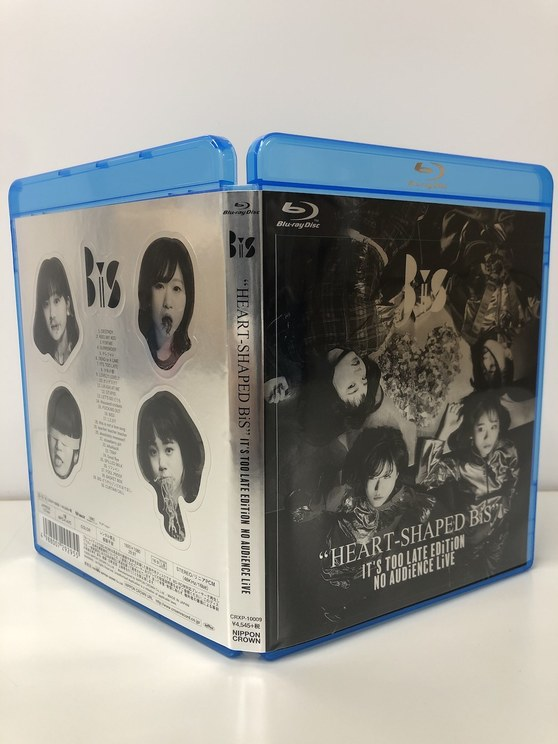 Blu-ray『HEART-SHAPED BiS IT'S TOO LATE EDiTiON NO AUDiENCE LiVE』