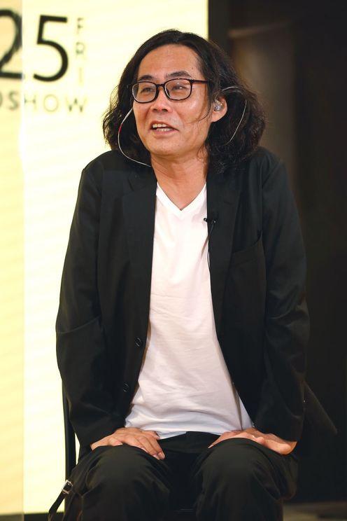英勉<映画『映像研には手を出すな!』完成報告会見>(2020年9月9日)
