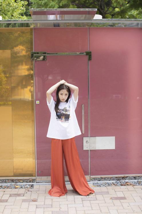 高柳明音 × RITA JEANS TOKYO コラボTEE
