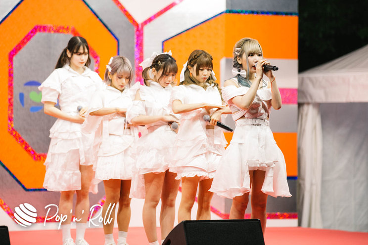 CY8ER[TIFオンライン2020ライブレポート]10/2 SMILE GARDEN(20:20-)