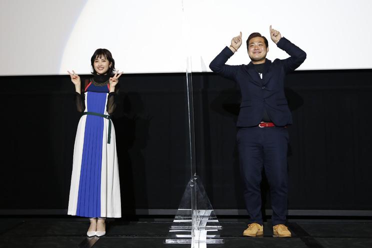 <映画『鬼ガール!!』公開記念舞台挨拶>|なんばパークスシネマ(2020年10月10日)