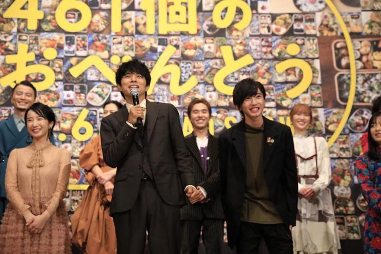 <映画『461個のおべんとう』完成披露試写会> 東京・丸の内TOEI①(2020年10月13日)